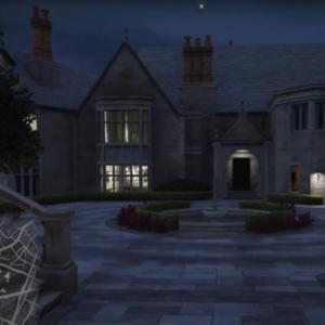 Playboy Mansion Map
